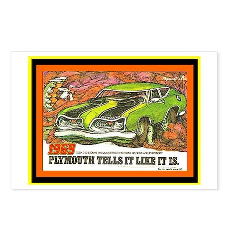 """1969 Barracuda"" Postcards (Package of 8)"