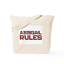 abbigail rules Tote Bag