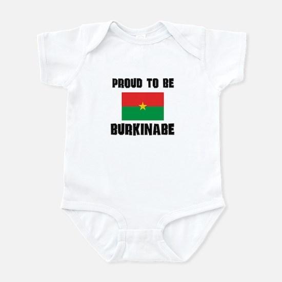 Proud To Be BURKINABE Infant Bodysuit