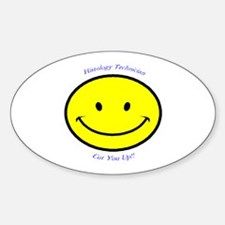 Histology Oval Decal