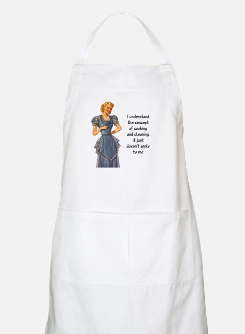 COOKING AND CLEANING Apron
