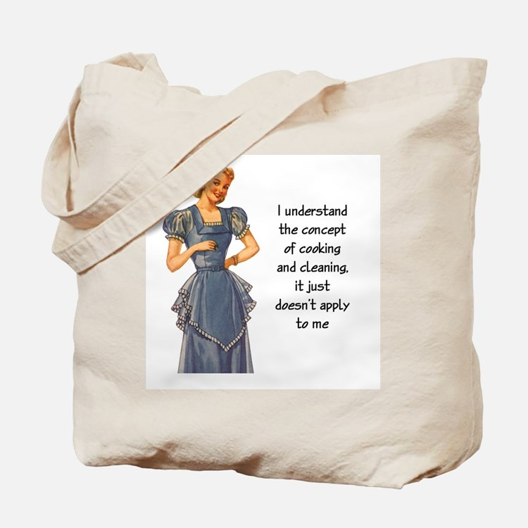 COOKING AND CLEANING Tote Bag