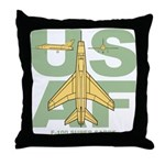 F-100 Throw Pillow