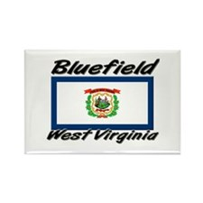 Bluefield West Virginia Rectangle Magnet