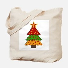 Quilted Tree Tote Bag