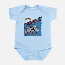 F-22 #1 Infant Bodysuit