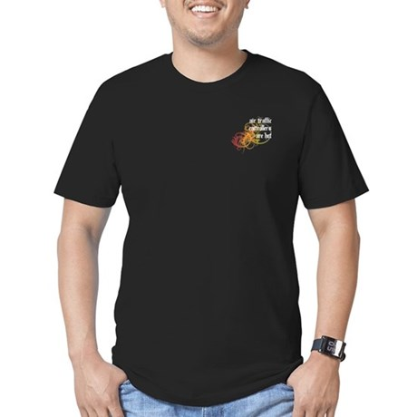 Air Traffic Controllers Are Hot Men's Fitted T-Shi