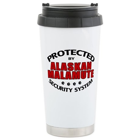 Alaskan Malamute Security Stainless Steel Travel M