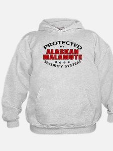 Alaskan Malamute Security Hoodie