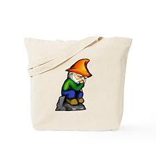 Thinker Gnome Tote Bag
