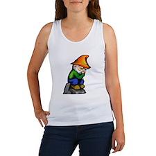 Thinker Gnome Women's Tank Top