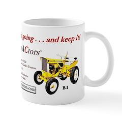 Small Mug with Simple trACtors slogan