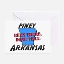 piney arkansas - been there, done that Greeting Ca