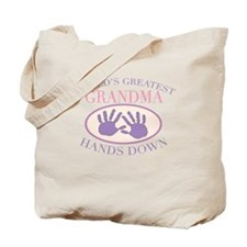 Best Grandma Hands Down Tote Bag