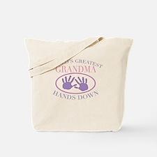 Best Grandma Hands Down Tote Bag
