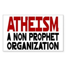 Atheism Rectangle Decal