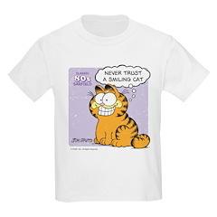 Never Trust a Smiling Cat T-Shirt