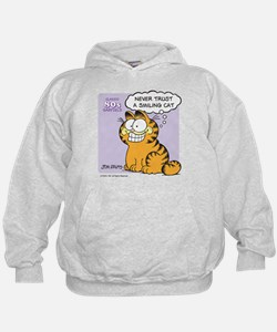 Never Trust a Smiling Cat Hoodie
