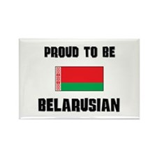 Proud To Be BELARUSIAN Rectangle Magnet