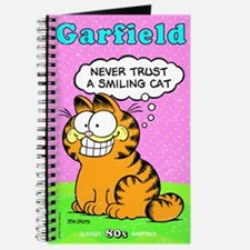 Never Trust a Smiling Cat Journal