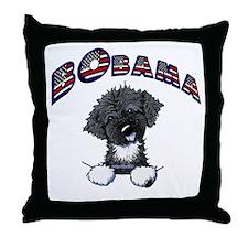 BObama 1st Dog PWD Throw Pillow