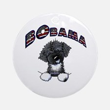 BObama 1st Dog PWD Ornament (Round)
