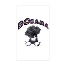 BObama 1st Dog PWD Rectangle Sticker 50 pk)