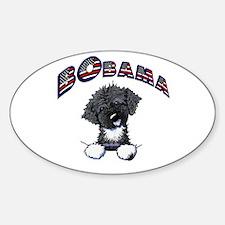 BObama 1st Dog PWD Oval Sticker (10 pk)