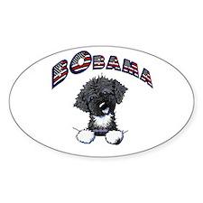BObama 1st Dog PWD Oval Sticker (50 pk)