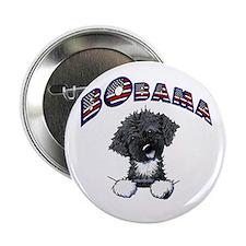 "BObama 1st Dog PWD 2.25"" Button"