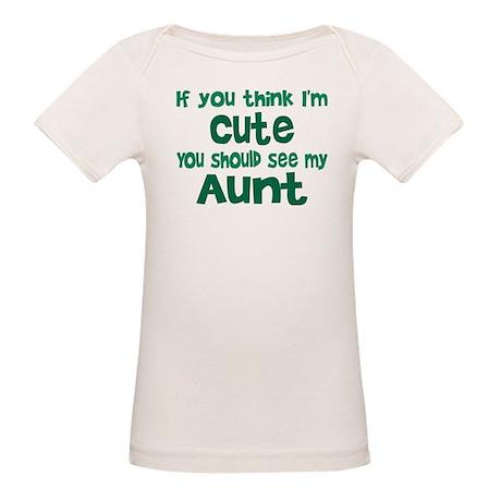 Think I'm Cute? Organic Baby T-Shirt