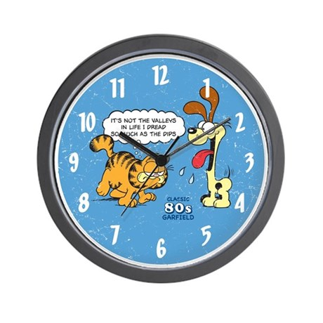 It's the Dips Wall Clock