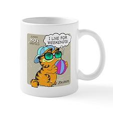I Live For Weekends Small Mug