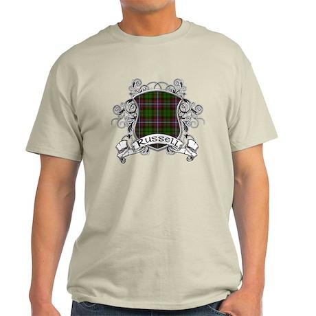 Russell Tartan Shield Light T-Shirt