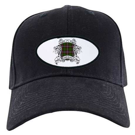 Russell Tartan Shield Black Cap