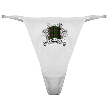 Russell Tartan Shield Classic Thong