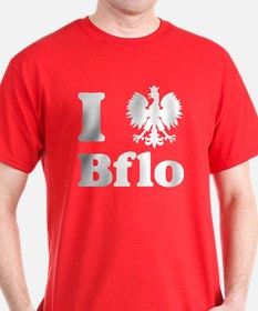 I Polish Eagle Bflo T-Shirt