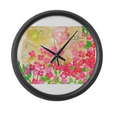 Spring 2 Large Wall Clock