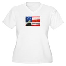 God Bless Our Troops T-Shirt