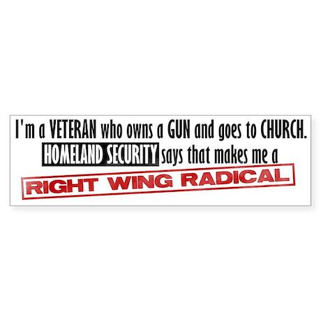 Radical Bumper Sticker