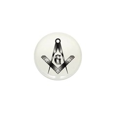 The Free Mason Mini Button (10 pack)