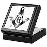 The Free Mason Keepsake Box