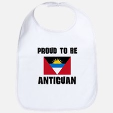 Proud To Be ANTIGUAN Bib