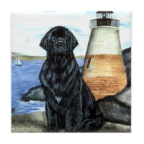 Newfoundland Lighthouse Tile Coaster