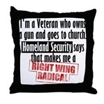 Radical Throw Pillow
