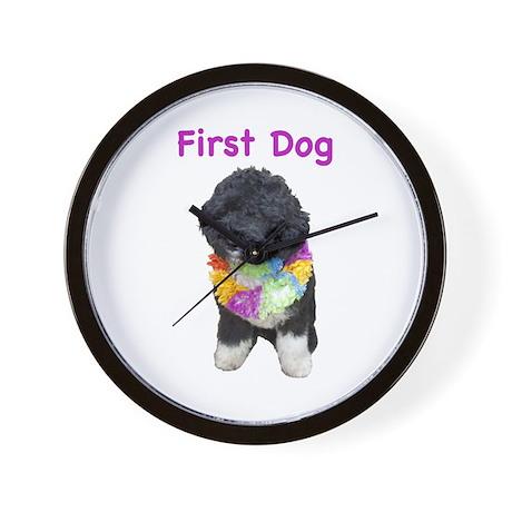 Bo First Dog Wall Clock