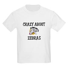 Crazy About Zebras T-Shirt