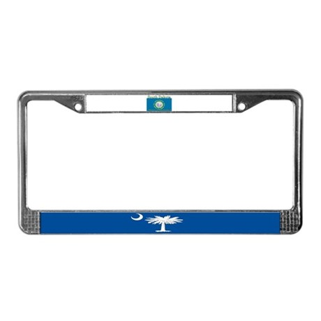 South Dakota State Flag License Plate Frame