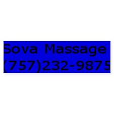 Sova Massage Bumper Bumper Sticker