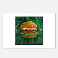 Tropical Cheeseburger Postcards (Package of 8)